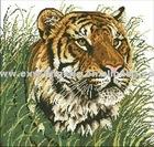 Tiger Grass cross-stitch
