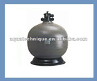 top-mounted quartz fiberglass sand filter tank