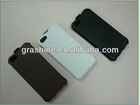 Top grade flip leather case for i phone 5