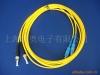 ST single mode fiber optic patch cord