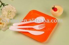 Biodegradable Plastic Cutlery Sets Spoon Fork Knife