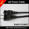 2Pin US Type Power Cable