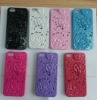 floral emboss hard case for iphone5