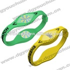 silicone snap on wrist band watch