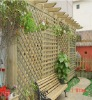Outdoor Treated Wooden Fence and Leisure-Chair