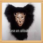 New!! Cony Hair Cheetah Design Applique SFC006