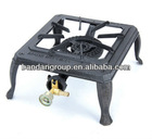 Cast iron gas stove cooker