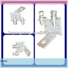 pole line hardware electric power line cable fitting copper connect forged clevis