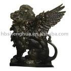bronze Lion statue