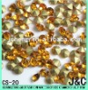 light topaz A grade loose rhinestone