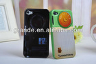 3D camera back cover case for iphone4 4s