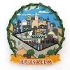 Jerusalem fridge magnet