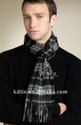 Fashion Plain Warm Silk Men Scarves In Winter Mixed styles