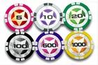 Laser Sticker Poker Chips(11.5g)