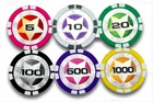 Laser Sticker Poker Chips(11.5g)