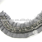 Newly ladies fashion beaded collar design, new style,sparkling collar