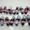 polished crystal glass beads
