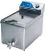 Single tank&single sleeve electric fryer
