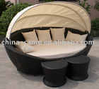 day bed with canopy & wicker roofed beach chair & rattan roofed bed & rattan roofed sofa