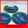 Fashion 3D soft pvc rubber silicone coaster