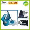 Easy life 360 rotating magic blue mop with 2 heads