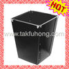 Black Printed Plastic Dustbin