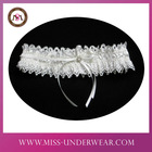 UK Fashion Beauty Designer Bridal Garters White