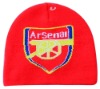 knitted hat for football club