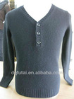 V neck sweater for man