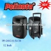 Active speaker box with wheels PP-2812AUS-CB