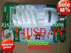 SJ-HS-01S03 Special price half spiral bulbs