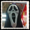 promotional pvc scared Halloween mask