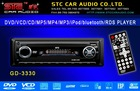 GD-3330 Car DVD/VCD/CD/MP5/MP4/MP3 Player/Support iPod/bluetooth ready/RDS