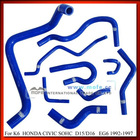 3 Ply Silicone Radiator Hose Accessories For Civic EG6