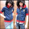 Boy's Special Thick Zipper Short Sleeve Jacket