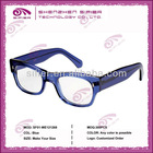 Translucent Blue Eye Glasses Women Brand New Fashion