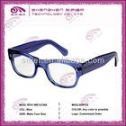 Translucent Blue Eye Glasses Women Brand New Fashion
