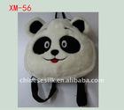 lovely short plush toy panda handbag gift