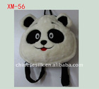 lovely short plush toy panda handbag gift