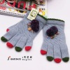 Lovely New Style Winter Knitted Five-Finger Glove