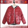 2012 new fashion men down jacket with hood