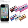 New Retro Edition Tape Silicone Case For Apple iPhone 4 4G IP-216