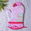Kitchen cotton oven mitt