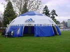 inflatable tent, inflatable dome tent with company logo F4003