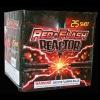 25S Red Flash Reactor Cake Fireworks 1.4G