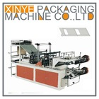 two-layer rolling vest bag making machine