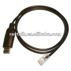 USB programming cable used for icom OPC-I1122 two way radio walkie talkie