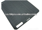 tires pattern for silicone ipad2/3 case