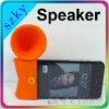 2012 Wholesale Silicone speaker for iPhone 4G 4S
