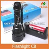 Hot led rechargeable torch